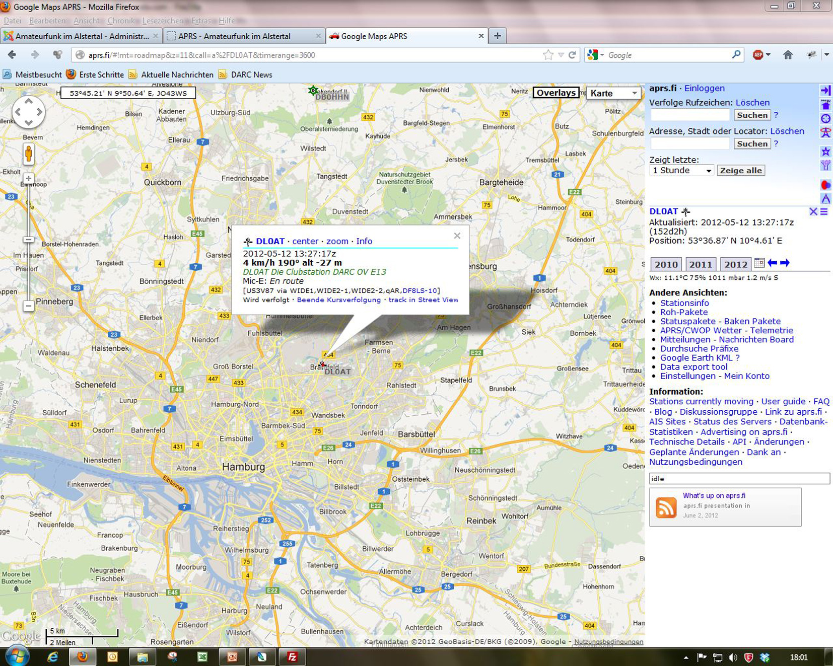 APRS-DL0AT-3